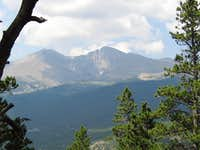 Mount Meeker and Longs Peak-From the Twin Sisters