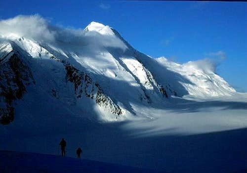 Aletschhorn above Konkordia