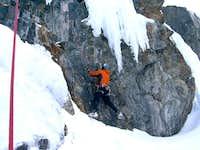 Mixed Climbing at Lincoln Ice
