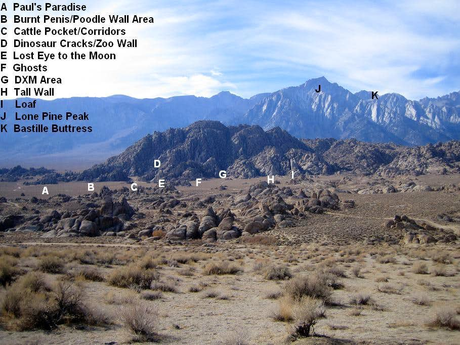 North Alabama Hills Overview