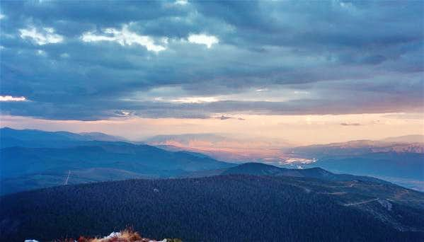 Missoula valley from Summit
