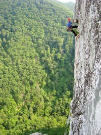 East Face Rappell