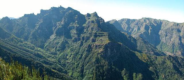 Pico Grande (1654m) seen from...