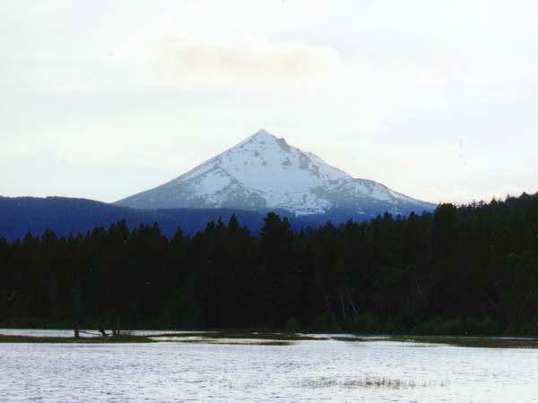 Mt. McLoughlin from the...