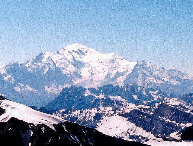 Mont Blanc from summit of...