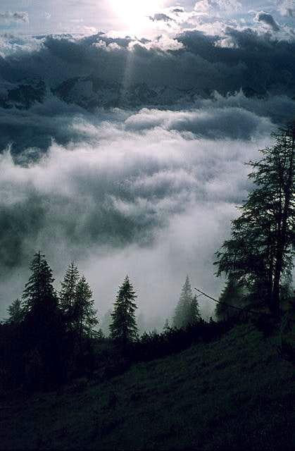 Val Brenta after a storm -...