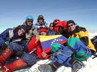 Venezuelan climbers at the...