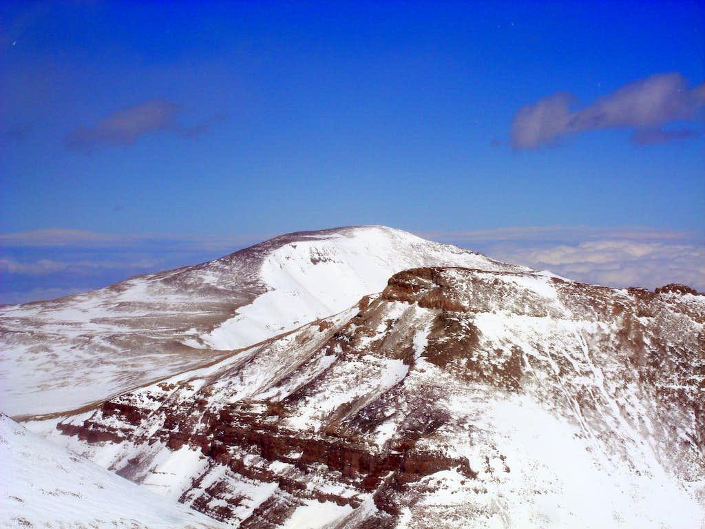 Gunsight and Gilbert as seen from Kings Peak