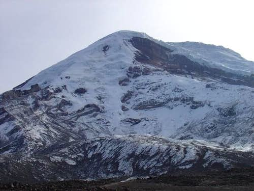 Chimborazo from the below the...