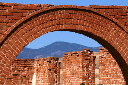 Hillsboro, New Mexico ruins