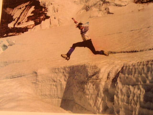 Coleman-Deming crevasse jump