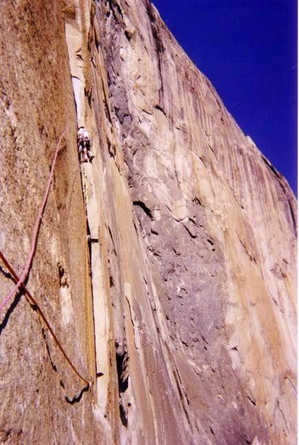 Pitch 11 of Mescalito,El Cap....