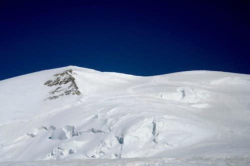 toward to Dôme du Goûter(4304m)