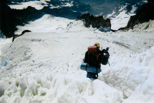 Descending Mt. Rainier,...
