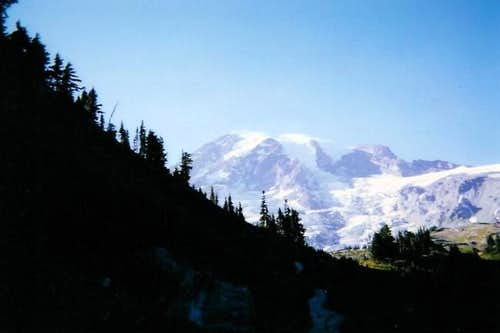 On the way to Camp Muir,...