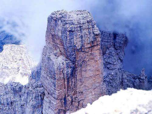Campanil Basso from Brenta Alta