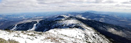 Mount Mansfield Panorama