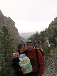 Quin's first hike