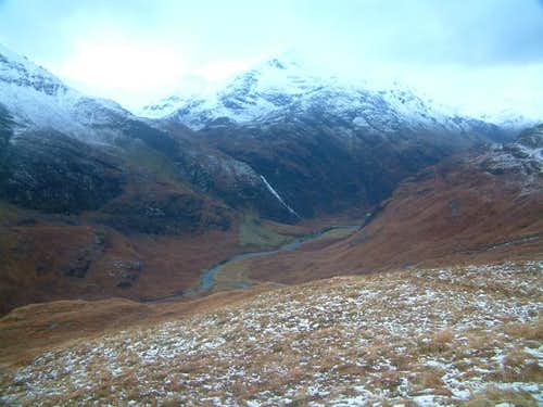 Looking back at the Steall...