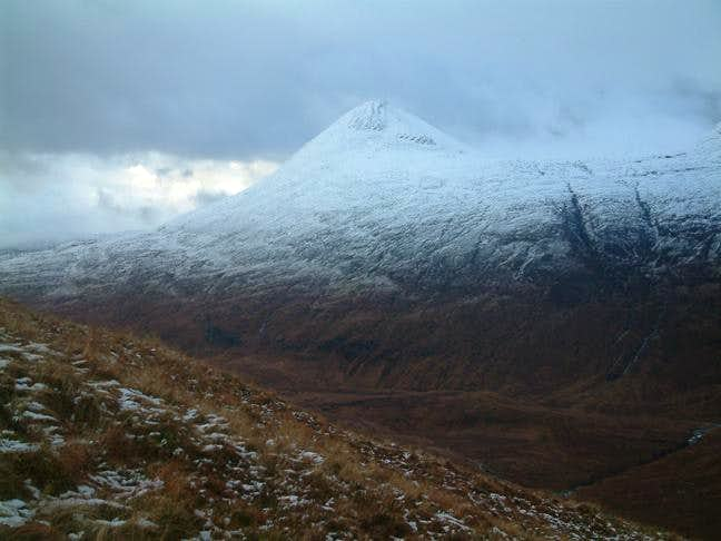Looking over from the Aonachs...