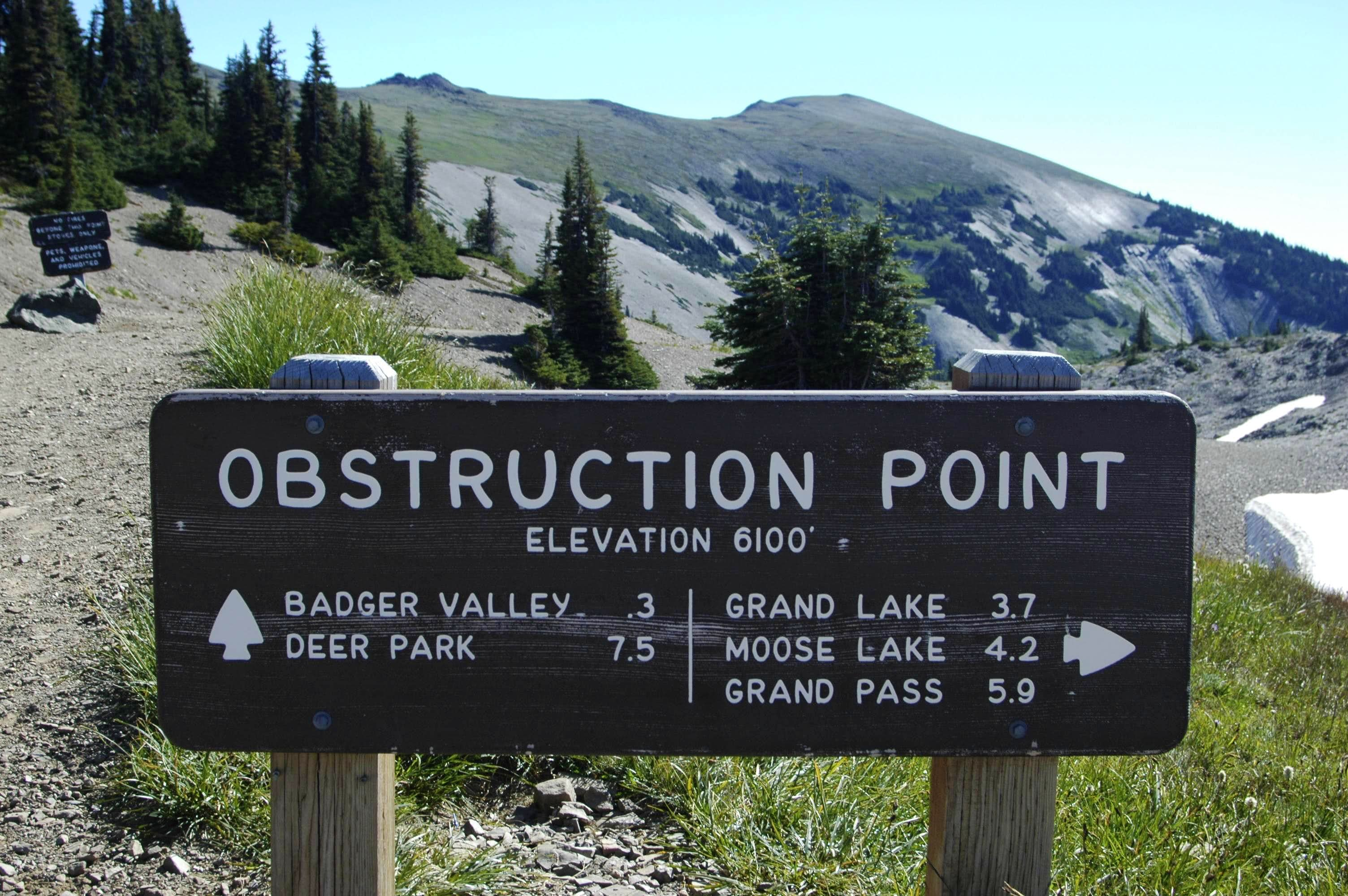 Obstruction Point