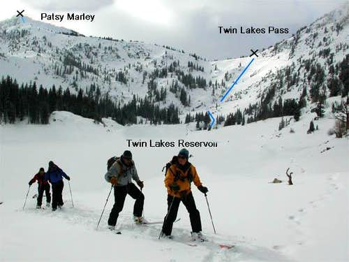 Accessing Patsy Marley from Twin Lakes