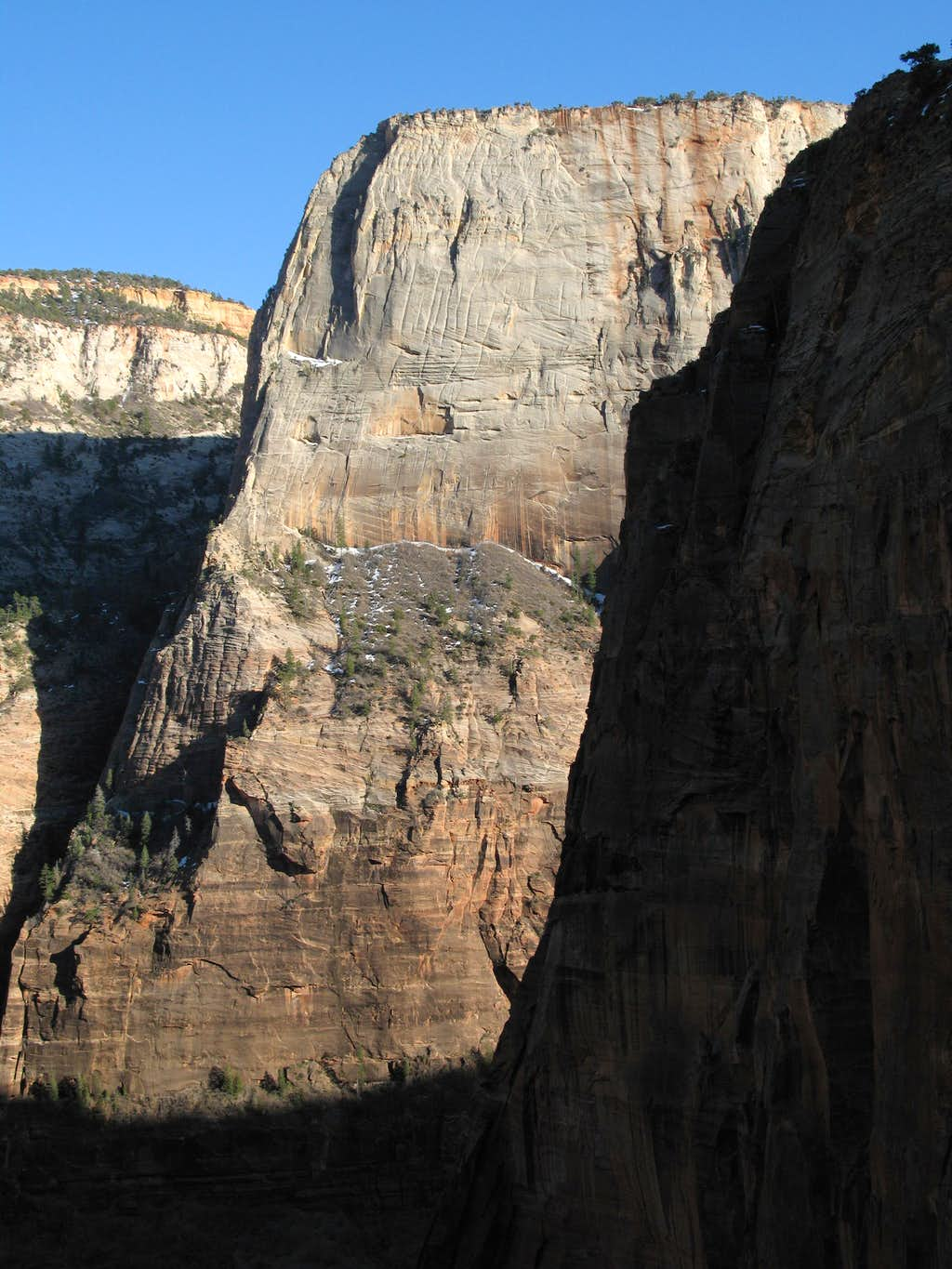 Angels Landing and the Great White Throne