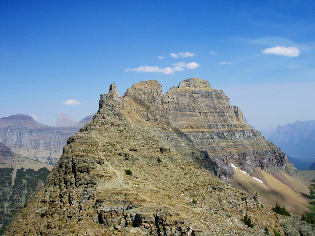 Upper West Ridge of Clement
