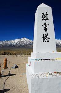 Mount Williamson from Manzanar