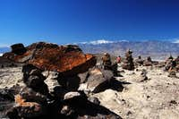 Telescope Peak from Artist Drive in Death Valley