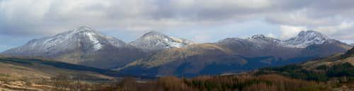 Crianlarich Hills Panorama