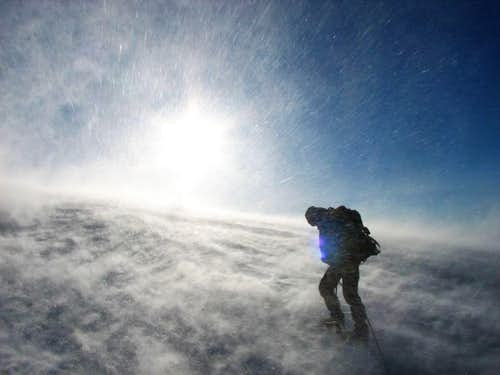 wind, snow, sun...