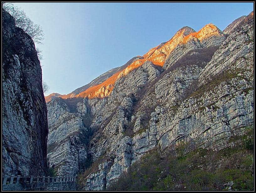 Monte Fara above Val Cellina