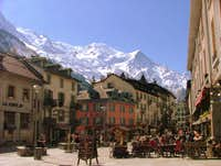 Mountain Towns. Chamonix, France.