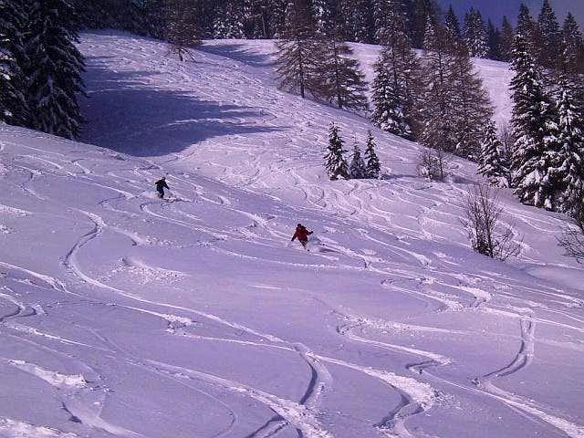 Blahstein Ski Descent