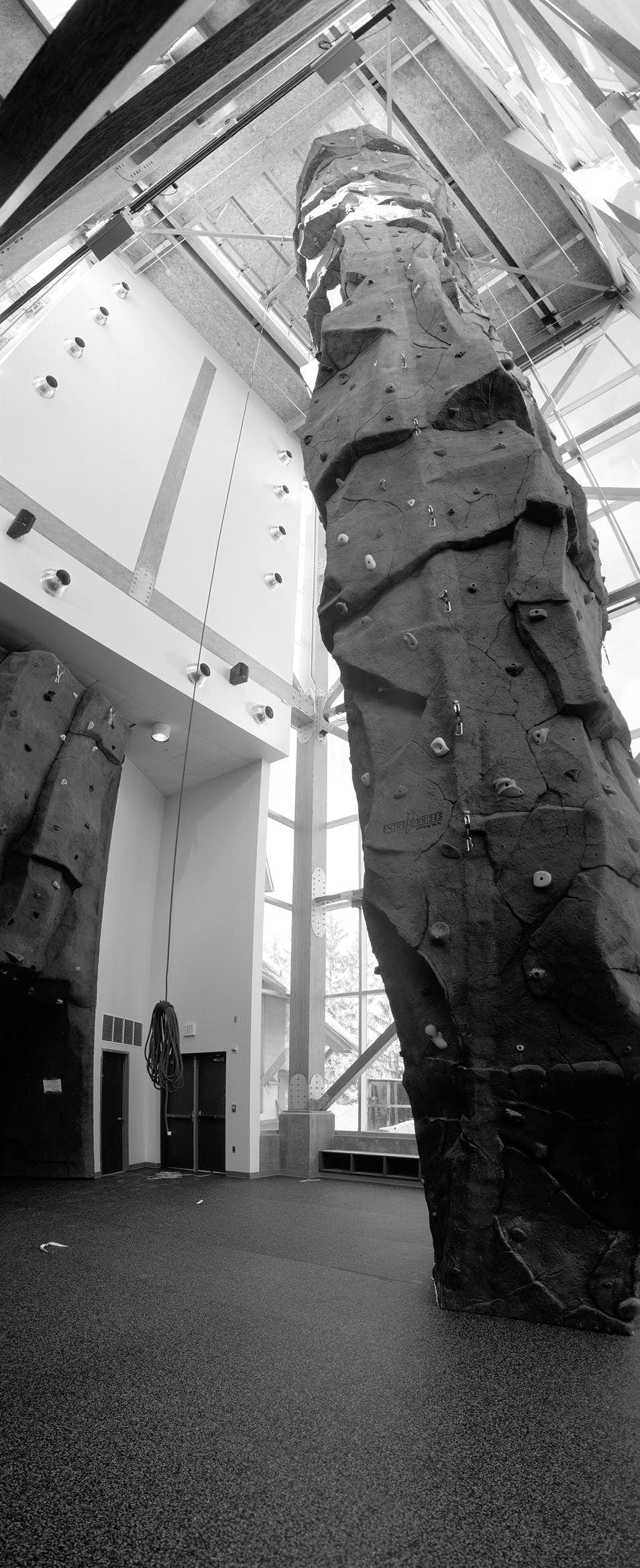 Univeristy Of Idaho Climbing Facility