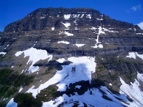 West Face of Mount Gould from Haystack Butte
