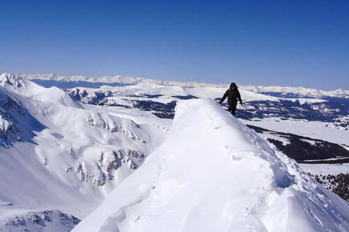 Atlantic Peak West Ridge