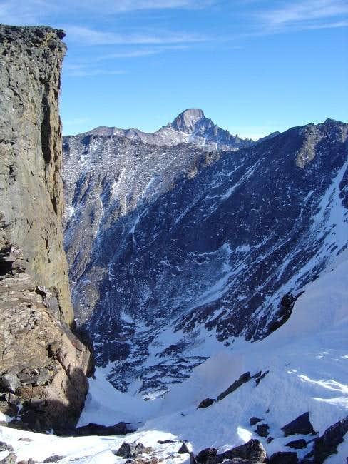 View of Longs Peak from the...