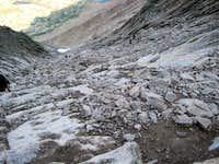 Longs Peak-The Trough-About half way