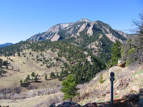 Bear Peak from NCAR