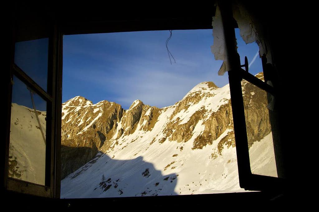 Window - Monte Cadria