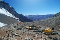 Camp 1 - 4.900 m