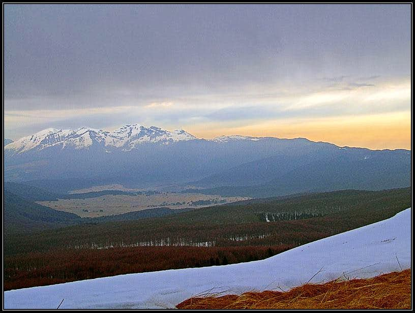 Monte Pizzoc panorama