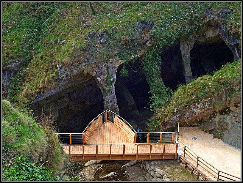 Fregona caves