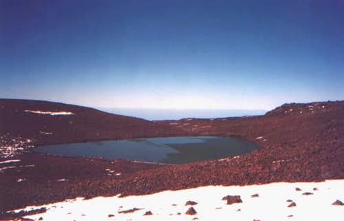 Lake Waiau at 3,969 m (13,020...