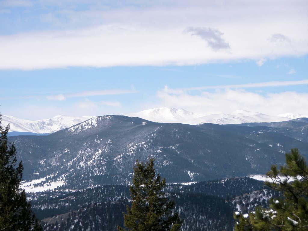 Mount Evans area and Bergen Peak