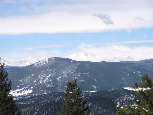 Mount Evans area and Bergen Peak