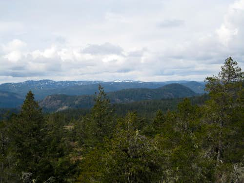 Peden Ridge from Sooke Mountain.