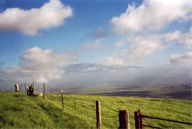 Mauna Kea from the Kohala...